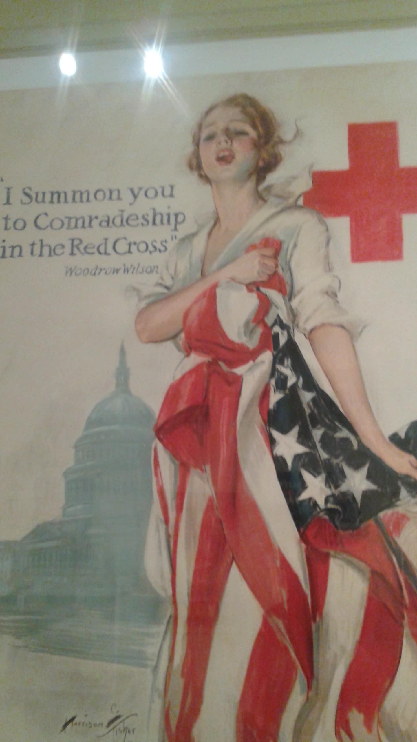 Promo Palang Merah Perang Dunia I.
